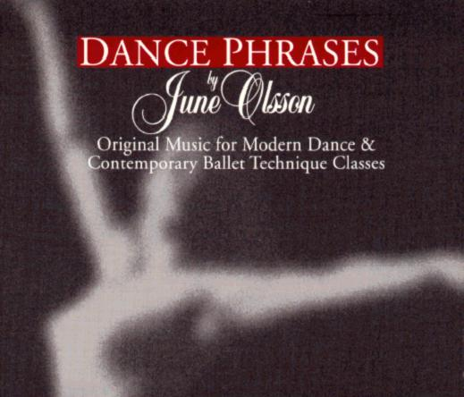 Dance Phrases Modern Dance CD Cover