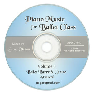 Piano Music for Ballet Class Vol 5 CD
