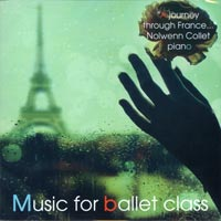 Music for Ballet Class - A Journey Through France - CD by Nolwenn Collett