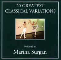 20 Greatest Classical Variations - CD by Marina Surgan