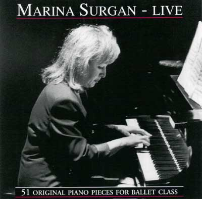 Marina Surgan - Live - CD for Ballet Class