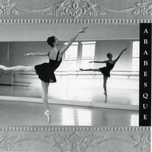 Arabesque - Ballet Class CD by Lisa Harris CD Cover