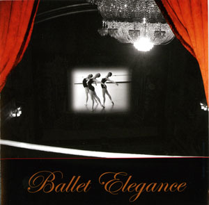 Ballet Elegance - Ballet Class CD by Lisa Harris CD Cover