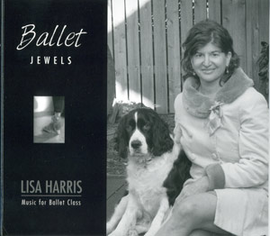 Ballet Jewels - Ballet Class CD by Lisa Harris CD Cover