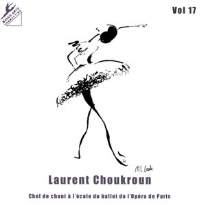 Dance Arts Production Vol 17 Debutants Ballet Class Cd by Laurent Choukroun