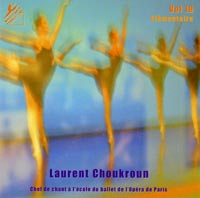 Dance Arts Production Vol 19 Elementaire Ballet Class Cd by Laurent Choukroun