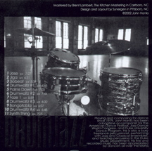 DRUMJAZZ inside cover