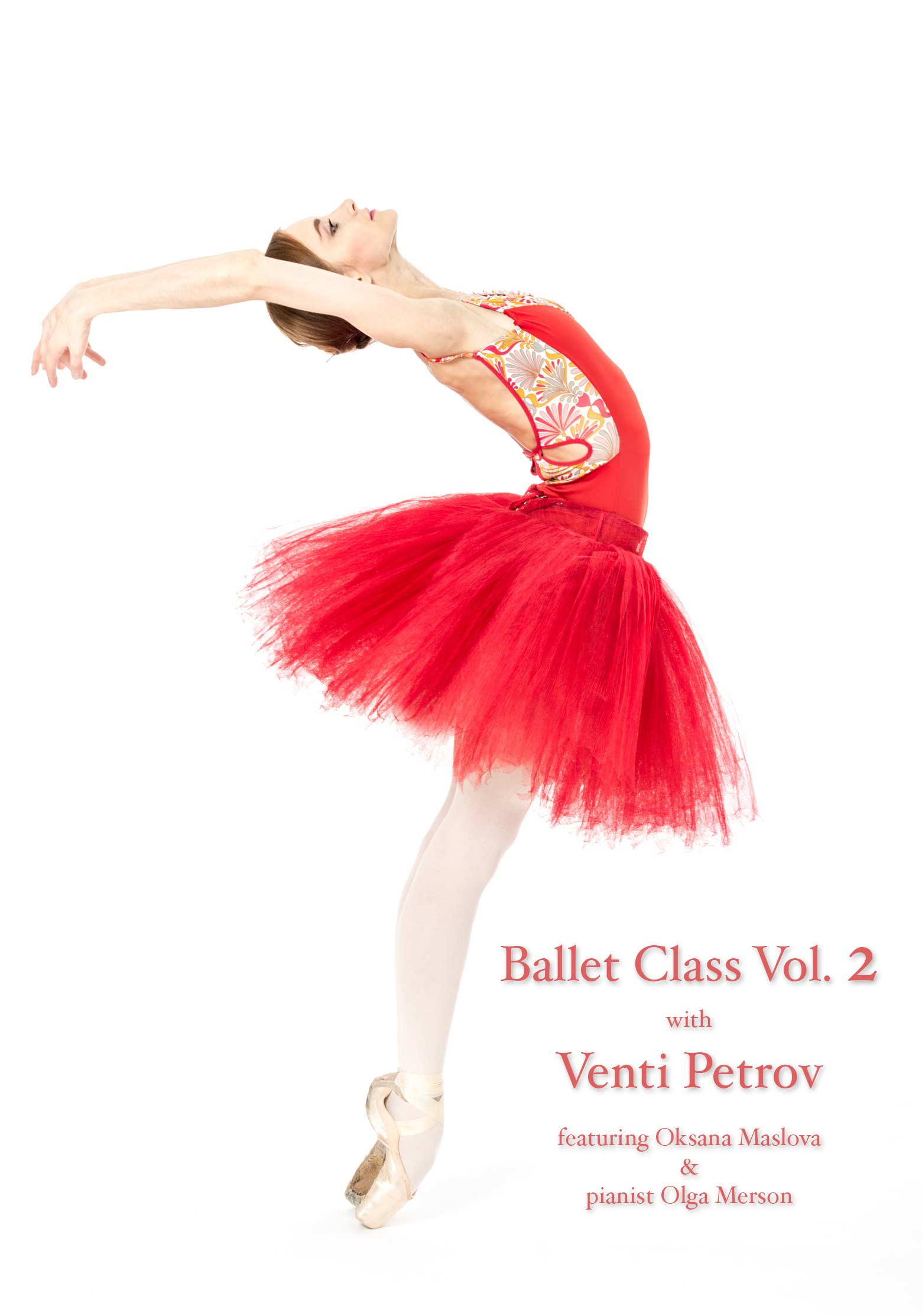Ballet Class Vol 2 - DVD by Venti Petrov and Olga Merson