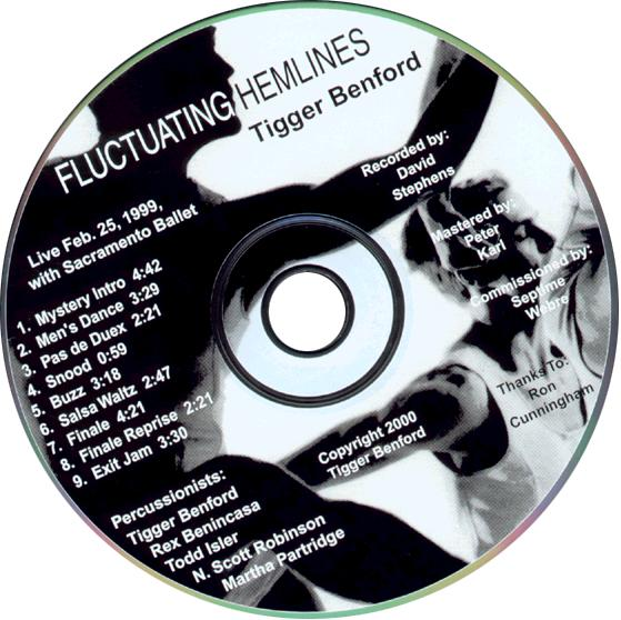 Fluctuating Hemlines CD Cover
