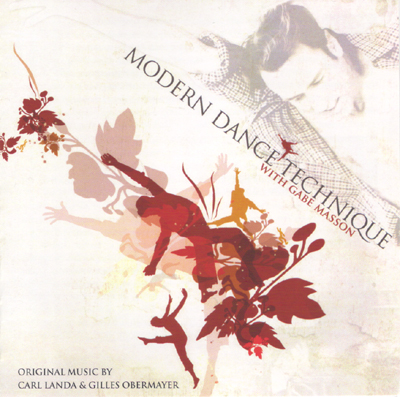 Modern Dance Technique with Gabe Masson - CD Cover