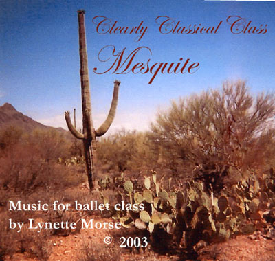 Clearly Classical - Mesquite CD Cover