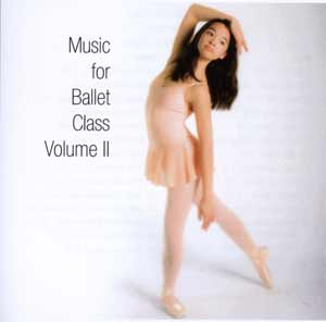 Music for Ballet Class vol 2 - CD by Karen Carreno Ballet Accompanist