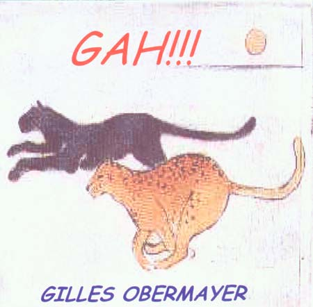 GAH!!! - CD by Gilles Obermayer