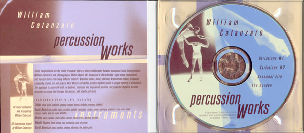 Percussion Works CD