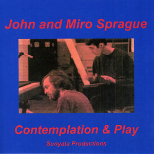 Contemplation & Play - John Sprague CD