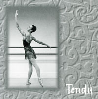 Tendu - Ballet Class CD by Lisa Harris CD Cover