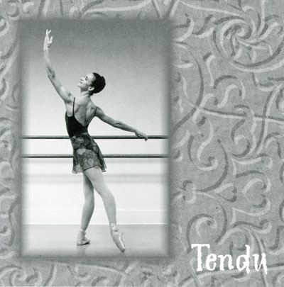 Tendu -  24 Pieces for Ballet Class CD cover by Lisa Harris