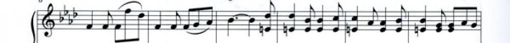 line of music 01