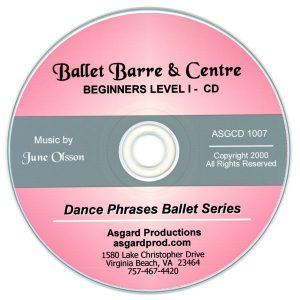 Ballet Barre & Center CD Vol 1