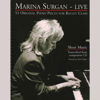 Marina Surgan Live - Sheeet Music book by Marina Surgan
