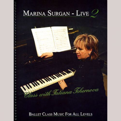 Marina Surgan Live 2 - Sheet Music Book by Marina Surgan