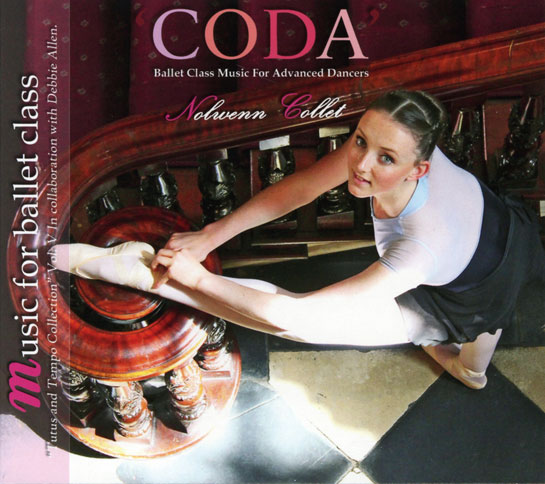 CODA - Tutus and Tempo Collection Vol V - Ballet Class Music for Advanced Dancers