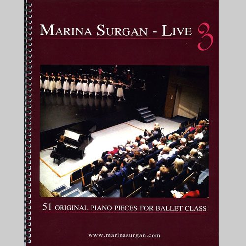 Marina Surgan Live 3 - Sheet Music Book by Marina Surgan