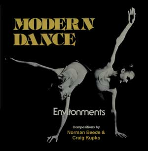 Modern Dance Environments -  CD cover