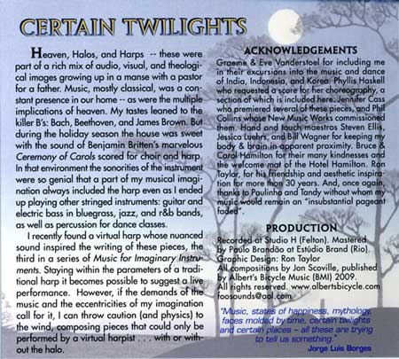 Certain Twilights backcover
