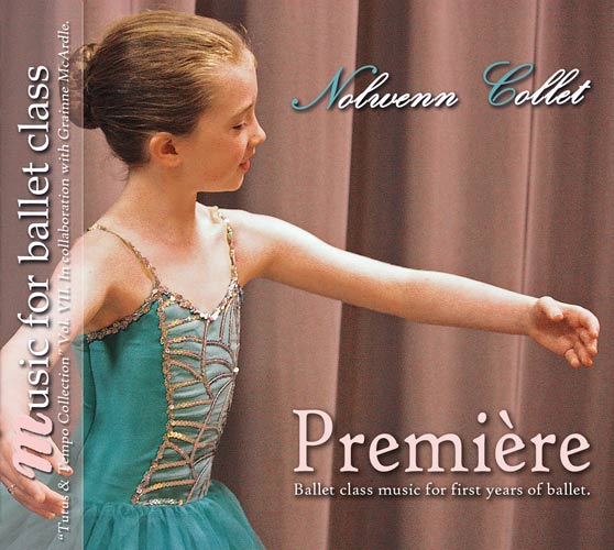 Premiere - Ballet CD for first years of ballet by Nolwenn Collet