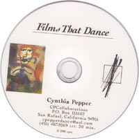 Films That Dance - Dance DVD by Cynthia Pepper