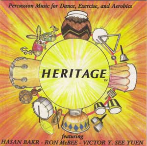Heritage - Music for Dance, Exercise & Aerobics CD