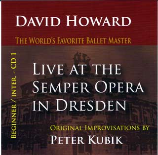 David Howard - Live At The Semper Opera - CD 1 Beginners