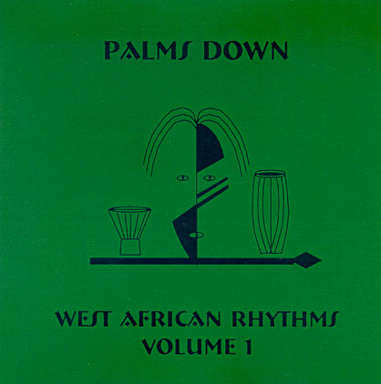West African Rhythms - Vol I CD Cover