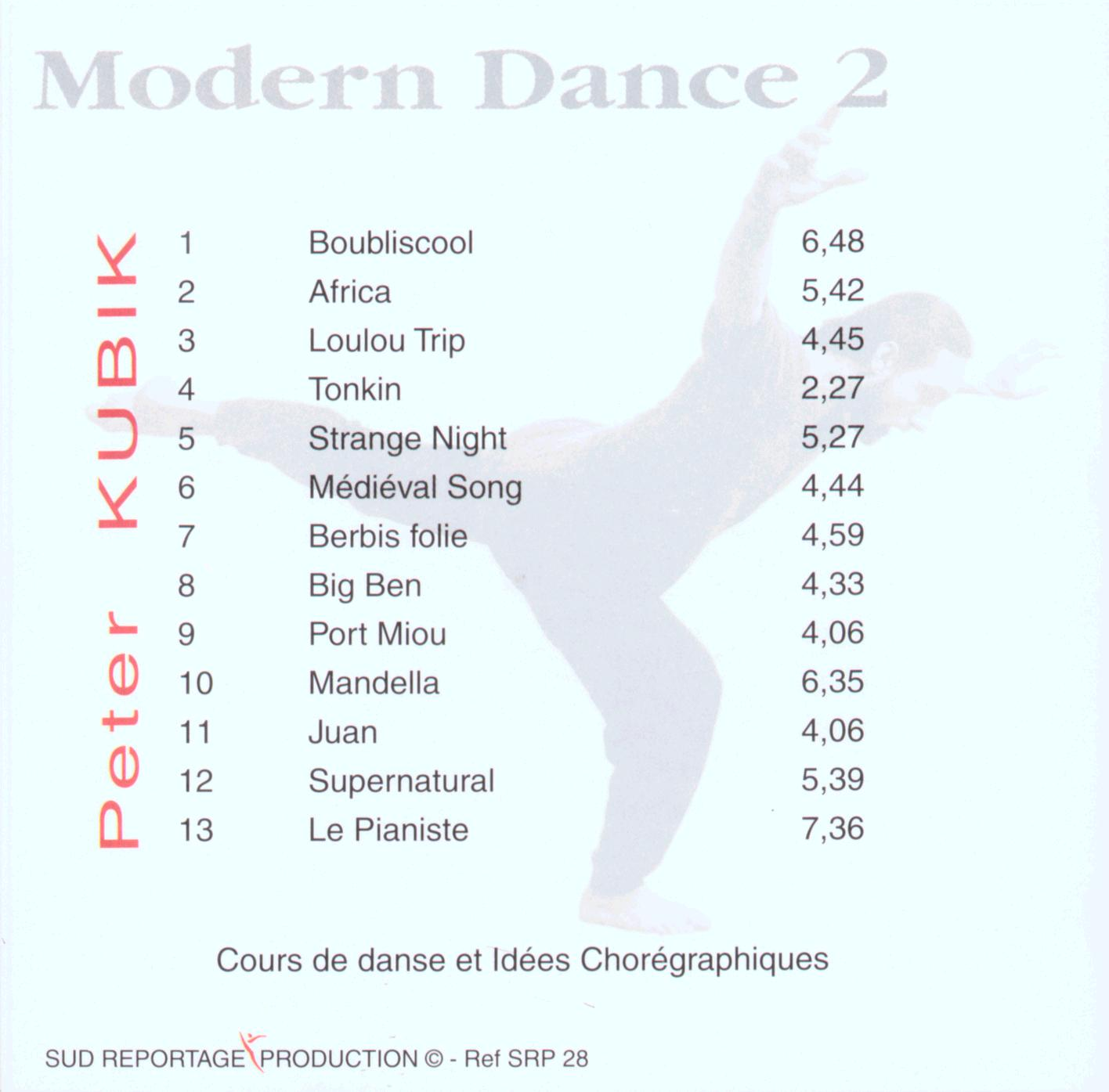 Modern Dance 2 Backcover